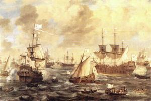 De vloot van de Grote Keurvorst