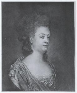 Portret van de echtgenote van Nicolaas Warin (1744-1815): Sophia Susanna Dedel (1748-1784) of Constantia Jacoba Ortt (1750-1803)