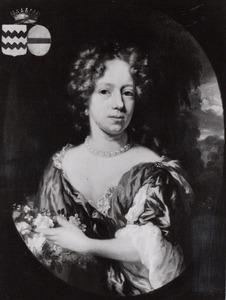 Portret van een vrouw, mogelijk Susanna Geertruid van Bodeck tot Marwitz (1659-1741)