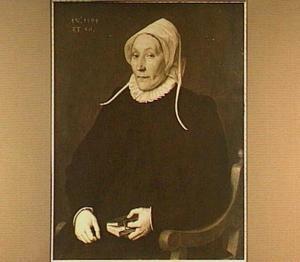 Portret van een 56-jarige vrouw
