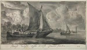 De nachtboten van Amsterdam (Rokin) naar Den Haag, Amsterdam en Leiden