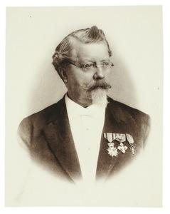 Portret van Coenraad Willem baron Sweerts de Landas Wyborgh (1820-1892)