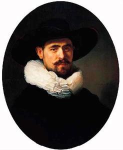 Portret van een 41-jarige man, waarschijnlijk Pieter Seijen (1592-1652)