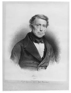 Portret van Abraham Caland (1789-1869)