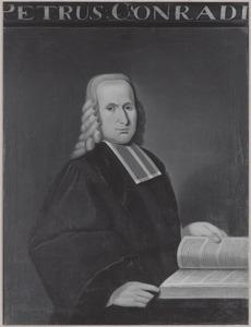 Portret van Petrus Conradi (1707-1781)
