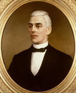 Portret van Dirk Herbert Arnold Kolff (1819-1909)