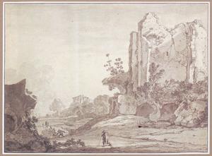 Zogenaamde Villa van Cicero in Tusculum ten noorden van  Frascati