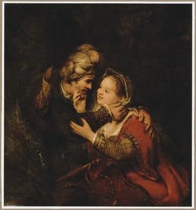 Juda door Tamar verleid (Genesis 38)