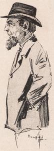 Portret van Louis Augustaaf van Gasteren (1887-1962)