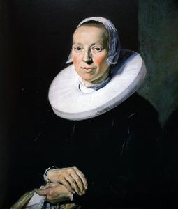 Portret van een onbekend vrouw