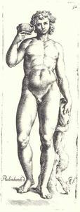 Bacchus met sater
