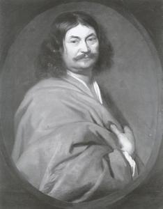 Portret van de beeldhouwer Georg Schweigger (1613-1690)