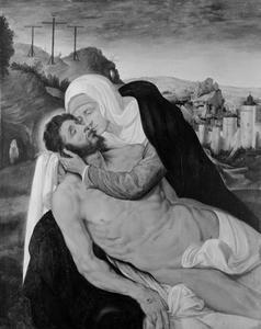 De bewening van Christus door Maria (Marcus 15)
