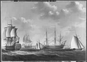 Nederlands eskader voor Vlissingen, 1785