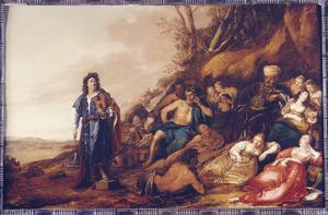 Het oordeel van Midas; Apollo en Pan (Ovidius, Metamorphosen II:146-193)