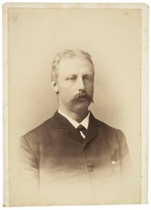 Portret van Pieter Gerrit Gallée (1851-1918)