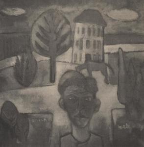 Portret van Boele Bregman (1918-1980)