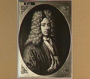 Portret van Albert Willem Hoeth (1674-1728), echtgenoot van Hester Catharina Weremeus