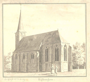 Eibergen, gezicht op de kerk