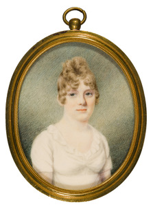 Portret van Antoinette Wilhelmina Johanna garvin Bentinck (1785-1870)