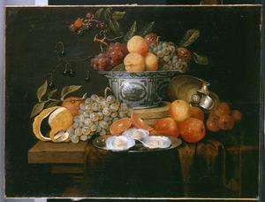Vruchtenstilleven met Wan Li-kom