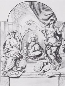 Portret van Arnoud van Halen (1673-1732)