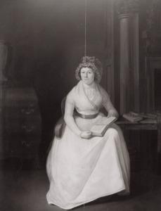 Portret van een vrouw, waarschijnlijk Hendrica Pieternella van Beest (1766-1804)
