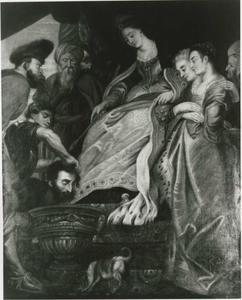 Tomyris en Cyrus