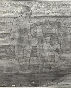 Affiche voor waterpolovereniging 'Het Stelletje'