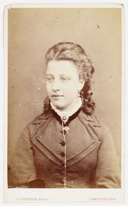 Portret van Geertruida Kops (1853-1941)