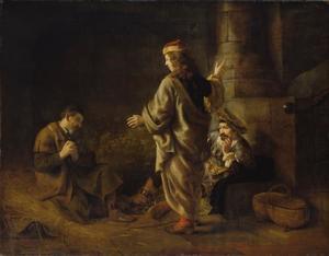 Jozef legt de dromen van de bakker en de schenker uit in de gevangenis (Genesis 40:1-23)