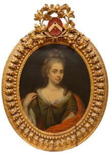 Portret van Catharina van der Stoffe (1678-1760)