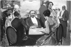 De kaartspelers