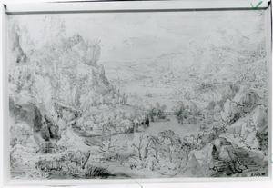 Panoramisch berglandschap