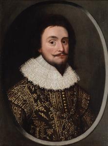 Portret van Frederik van de Palts (1596-1632)