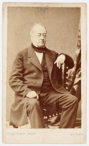 Portret van Henrik Collot d'Escury (1806-1869)