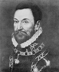 Portret van Charles de Brimeu Graaf van Megen ( -1572)