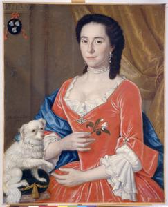 Portret van Christine Vockestaert (1693-1744)