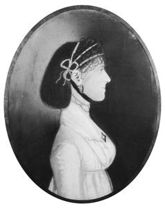 Portret van Geertruy van Raan (1784-1820)