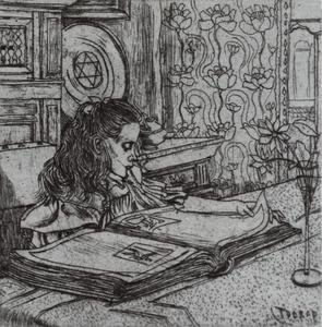 Portret van Charley Toorop (1891-1955)