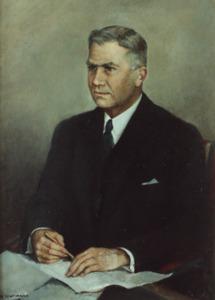 Portret van Willem Maas Geesteranus (1893-1948)