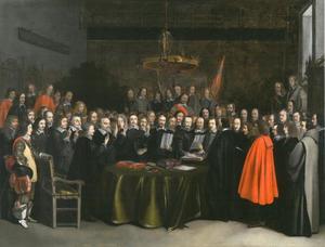 Bezwering van de Vrede van Münster, 15 mei 1648