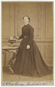 Portret van Elisabeth Anna Maria Bentinck van Schoonheten (1828-1872)
