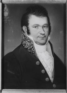 Portret van Joannes Nepveu Wilhelmus Anthonius van Hugenpoth tot Aerdt (1789-1849)