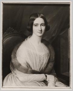 Portret van Henriette Jacqueline Wilhelmine Huydecoper (1826-1901)