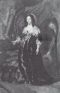 Portret van prinses Magdalena Sibylla van Saksen (1617-1668)