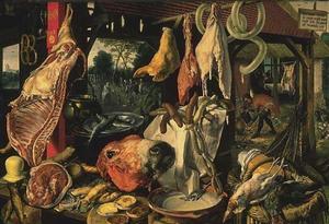 De vleesstal