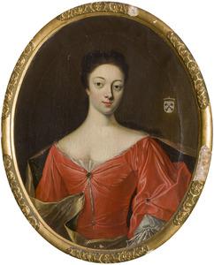 Portret van Gerhardina Johanna Schimmelpenninck van der Oye (1709 -1736)