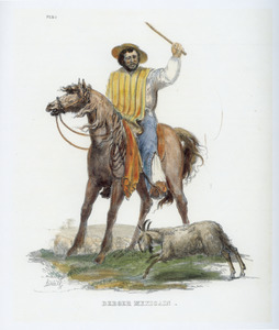 Mexicaanse herder te paard