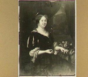 Portret van een vrouw, genaamd Maria Talliarde
